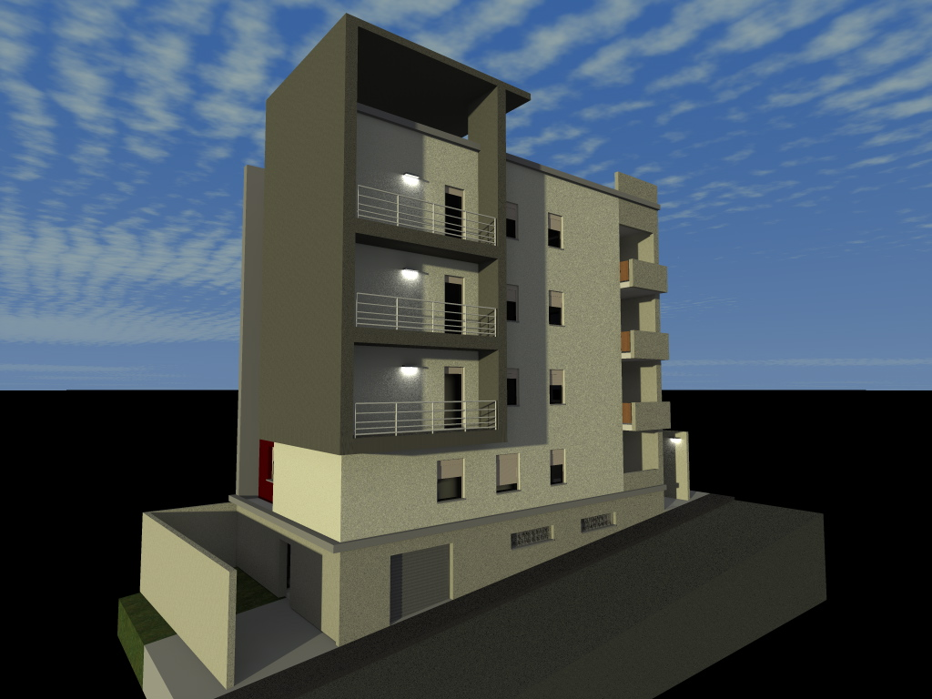 plan architectural 6